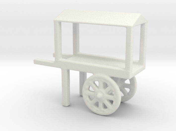 hand cart covered 2 3d printed