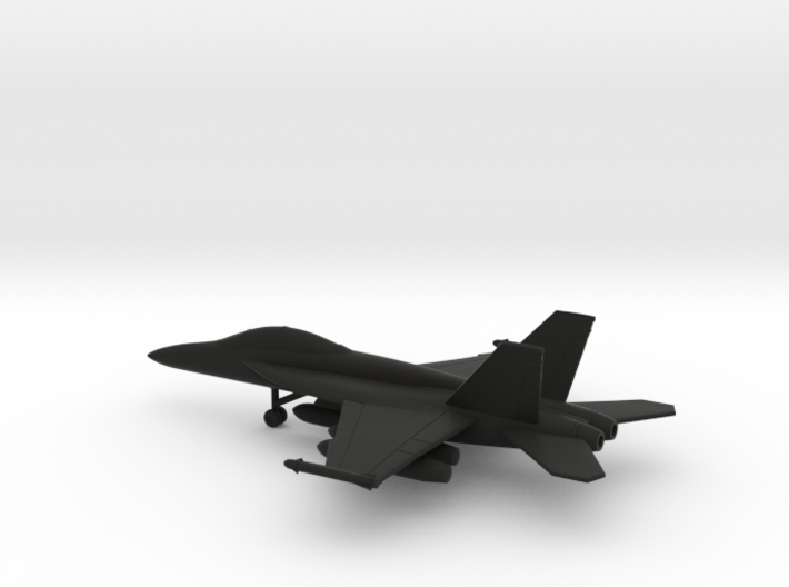 Boeing F/A-18F (with wing tanks) 3d printed