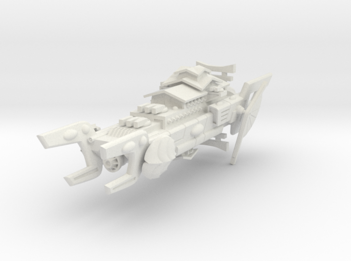 Order of the Shell Space Battleship 3d printed