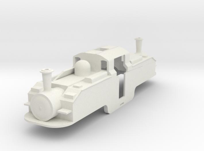 BM5-001 5.5mm Scale FR Earl of Merioneth Coal Burn 3d printed