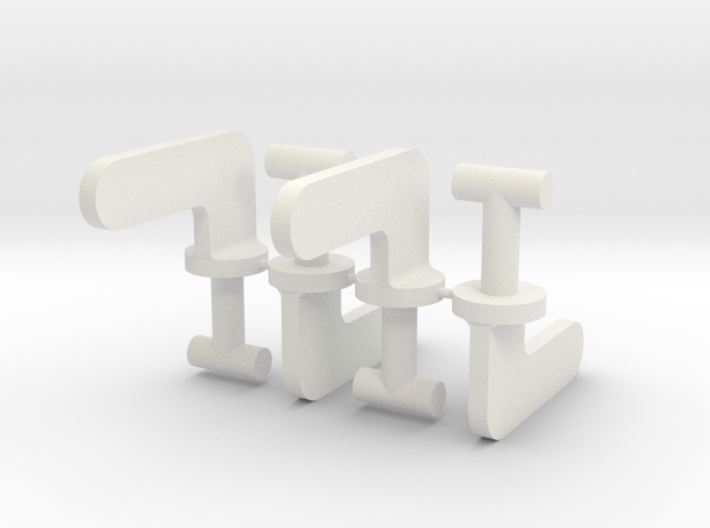 Travel Aire Dog Crate Clips 3d printed