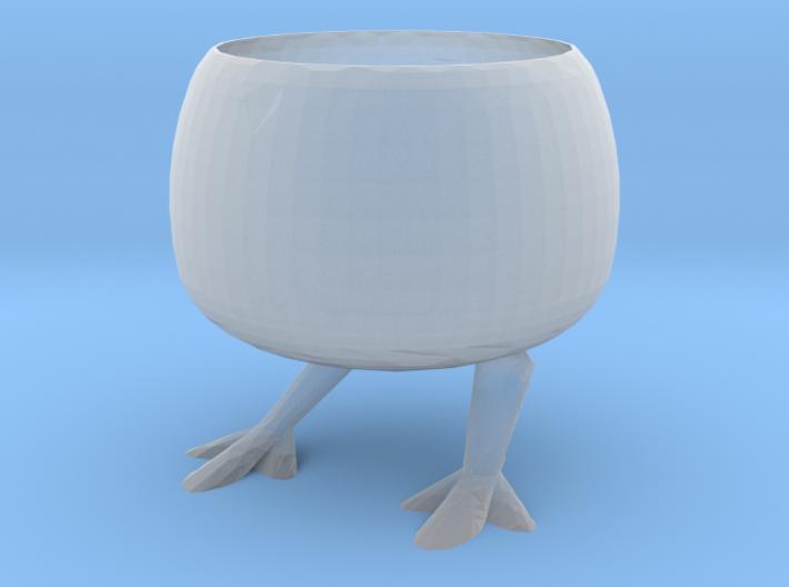 Chicken Flowerpot 3d printed