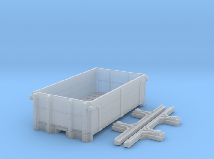 P-class ration wagon 3d printed