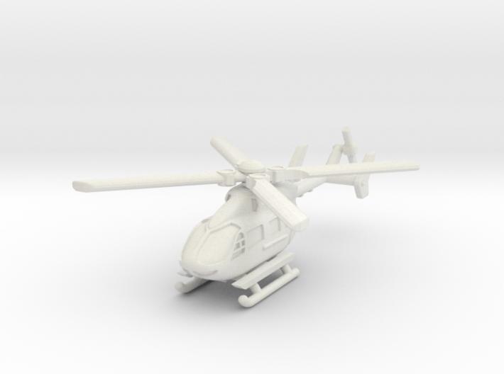 Eurocopter UH-72 Lakota 1/160 3d printed