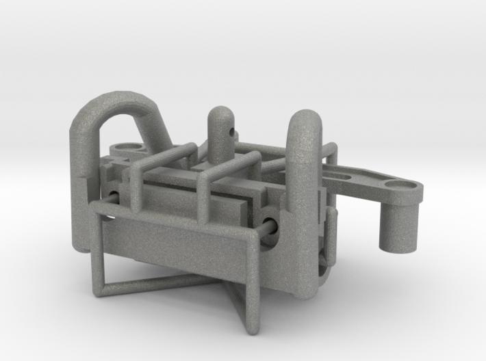 Tamiya Terra Scorcher body mounting kit 3d printed