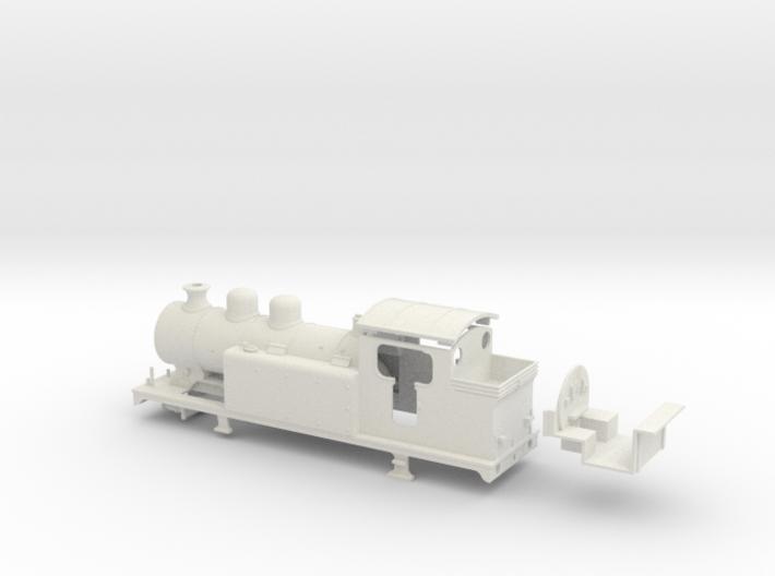 LBSCR E5-X - SR/BR body (Double dome) 3d printed