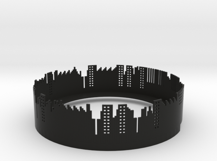 City Lights 3d printed