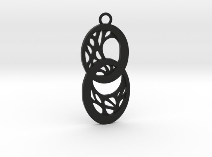 Dryad pendant 3d printed