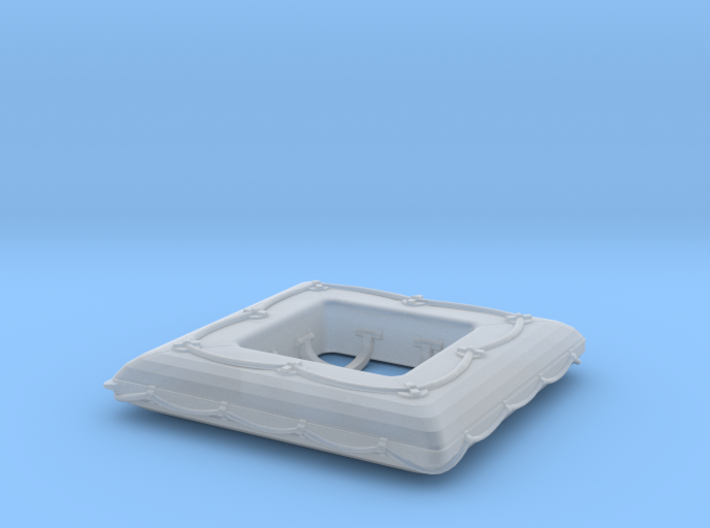 1/50 DKM Life Raft Single 3d printed