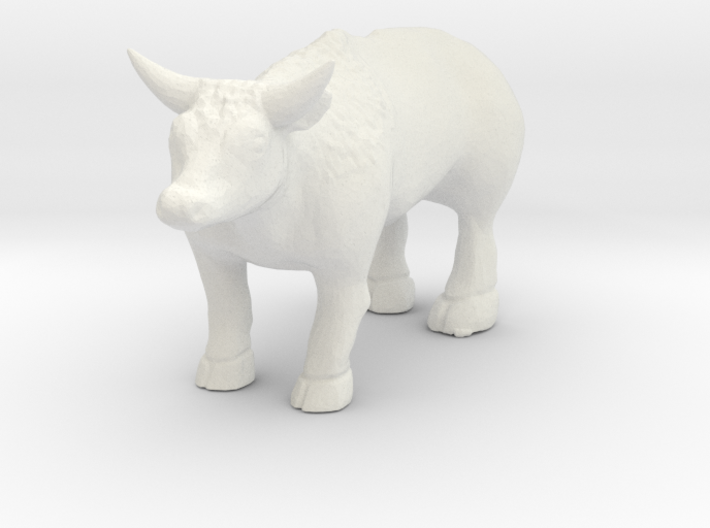 O Scale Ox 3d printed This is a render not a picture