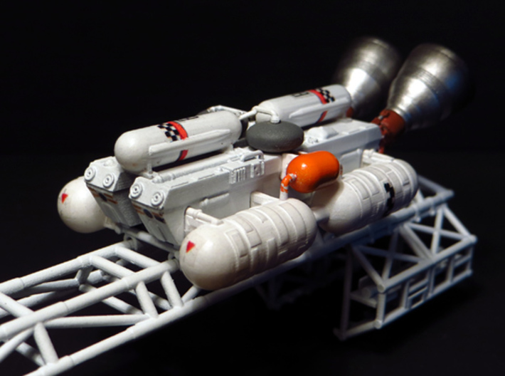 SPACE 2999 TRANSPORTER 1/144 SPINE BOOSTER 3d printed Kit on the Eagle spine -not included-