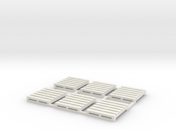 Pallet-2 (6 ea.) 3d printed Part # PL-002