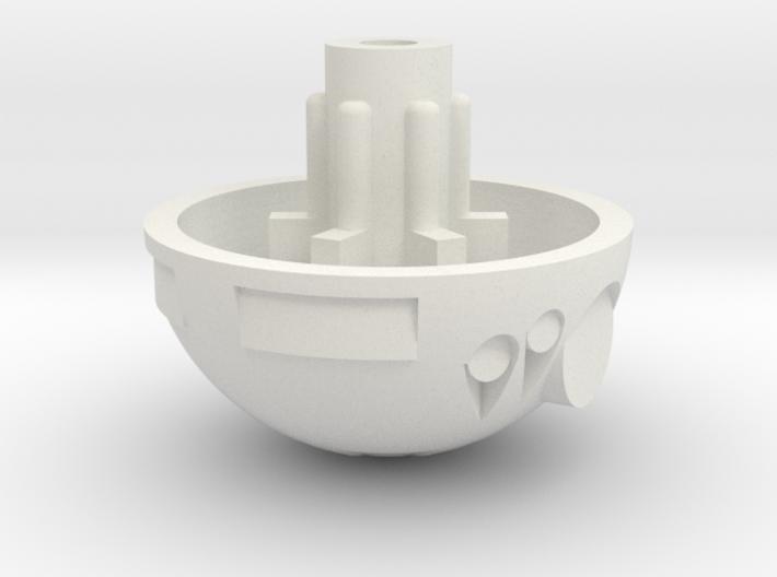 "PRHI Kenner Astromech R2 Head 6"" Scale 3d printed"
