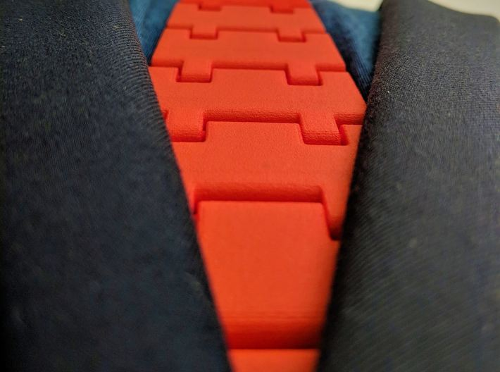 The Classic Necktie 3d printed The Classic stays close to your body just like a normal tie