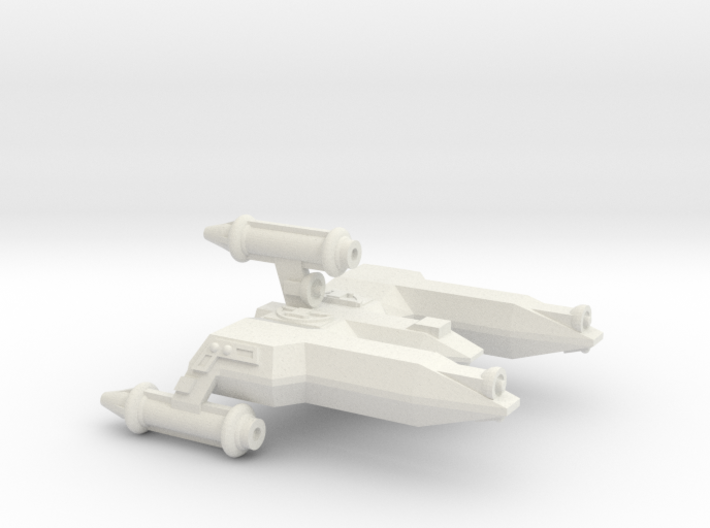 3788 Scale Lyran War Destroyer Scout (DWS) CVN 3d printed