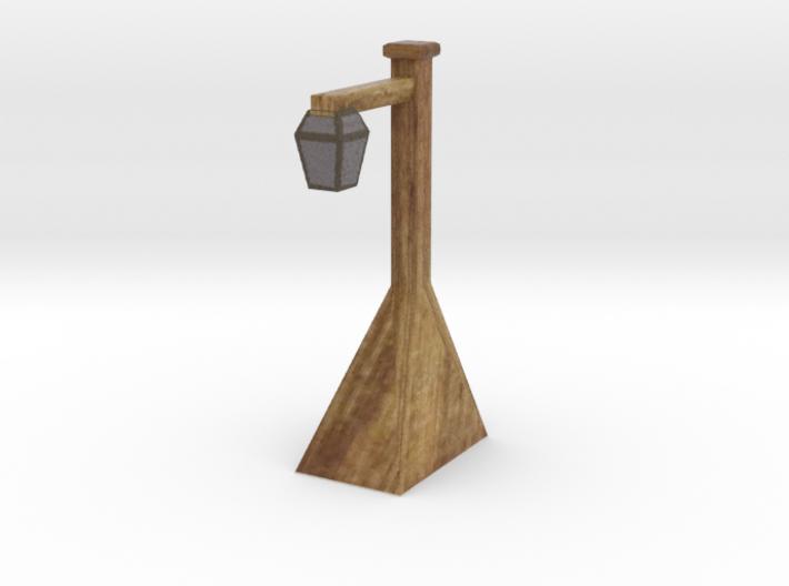 Miniature street lamp 3d printed