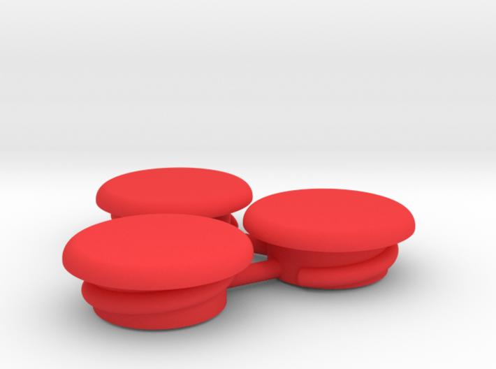 Thumbwheel Screw Caps Set (Part CP122) 3d printed