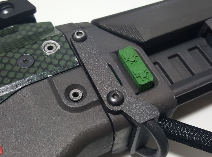 Deranged PTS Masada stock Button 3d printed