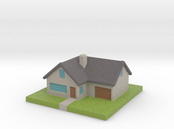 Miniature Country House 3d printed
