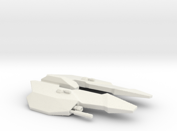 BC Templar spacecraft 3d printed