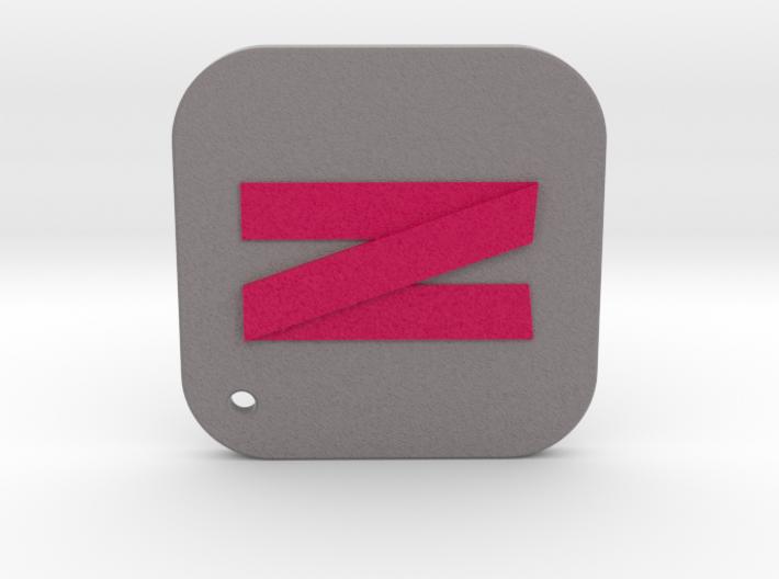 iOS Netflix Keychain 3d printed