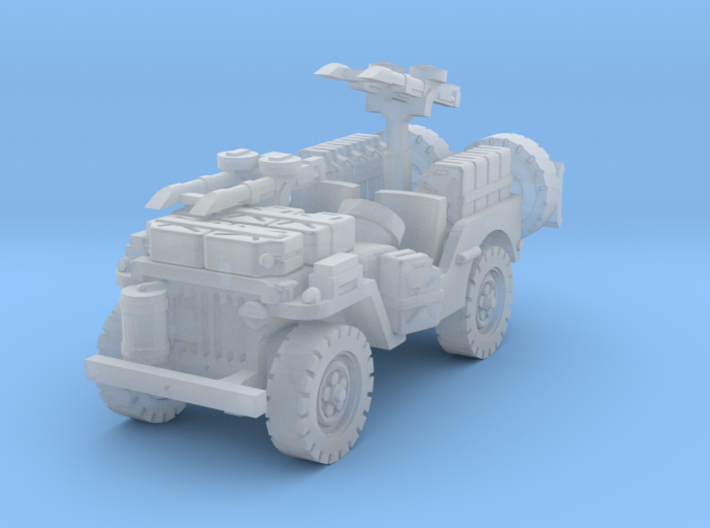 SAS Jeep scale 1/160 3d printed