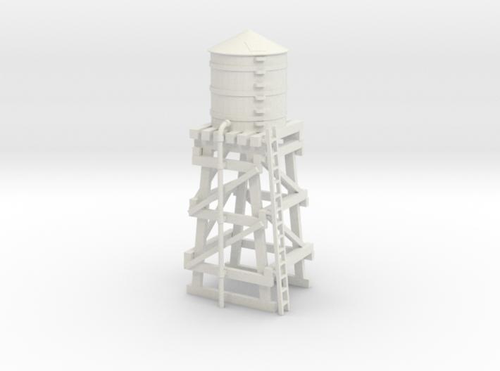 Water Tower 3d printed