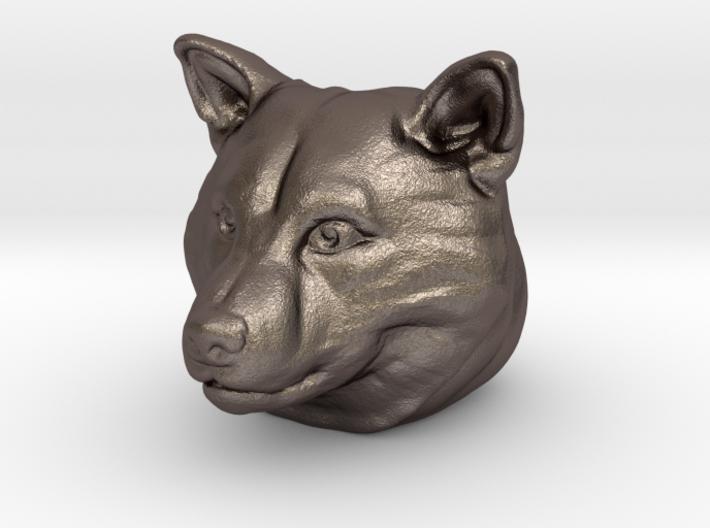 Shiba Inu Pendant/Bead 3d printed
