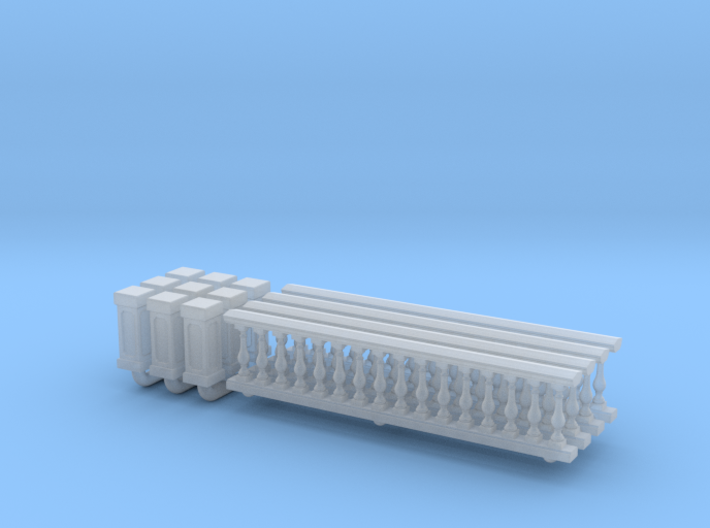 Baluster 01. 1:148 Scale 3d printed