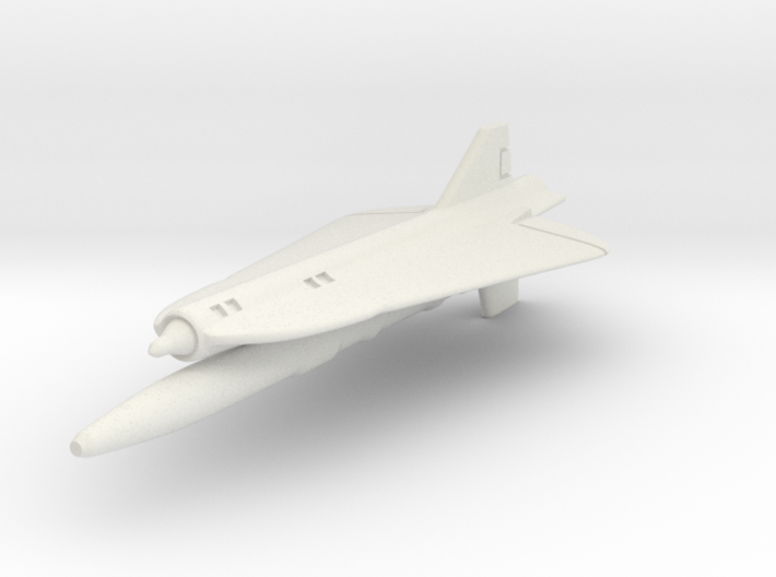 Lockheed D-21B 1/144 3d printed