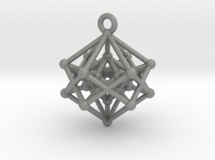 Introspection Pendant 3d printed