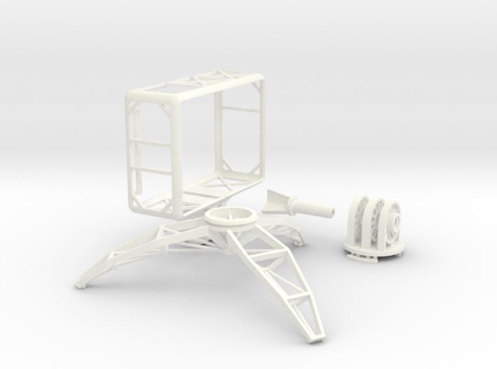 GoPro open frame & mini tripod 3d printed