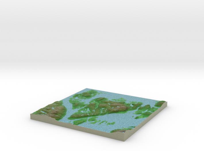 Terrafab generated model Thu Jan 17 2019 05:29:24 3d printed