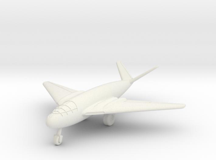 (1:200) Messerschmitt Me P.1107/II (with gear) 3d printed