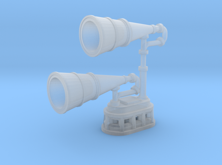1/100 IJN Yamato type 22 Surface Search Radar Horn 3d printed