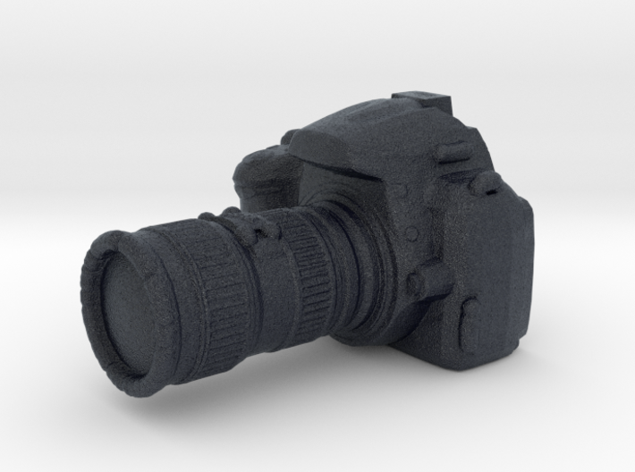 Camera D3000 with Camera Lens - 1/10 3d printed