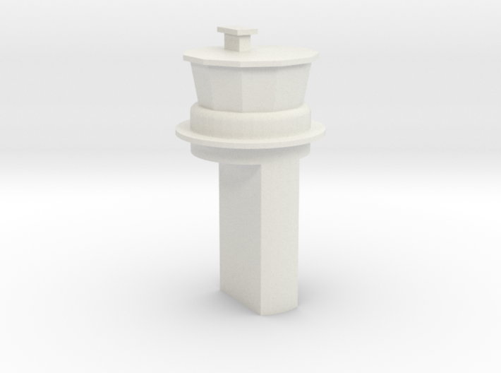 Papa SAC Base Control Tower 1:1250 Scale 3d printed