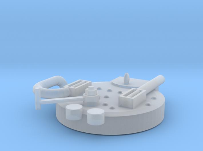 Boiler Backend 3d printed