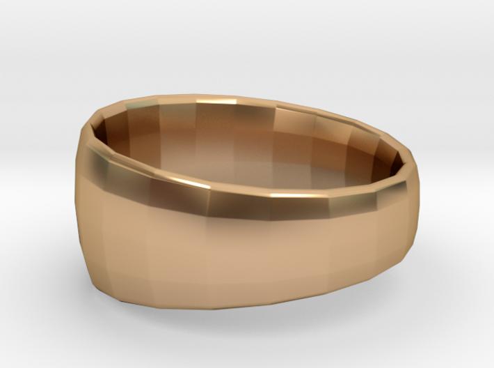 Ima Edgededges Ring 3d printed