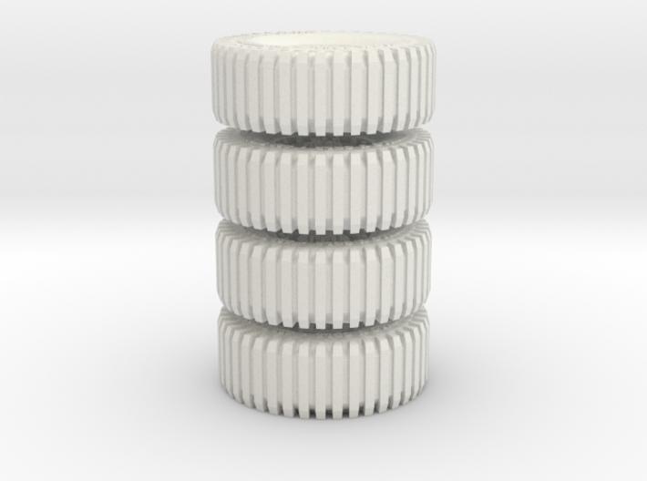 All Terrain Wheels x4 #2 3d printed