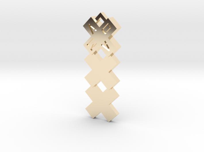 XXX Amsterdam Pendant kettinghanger Medium 3d printed
