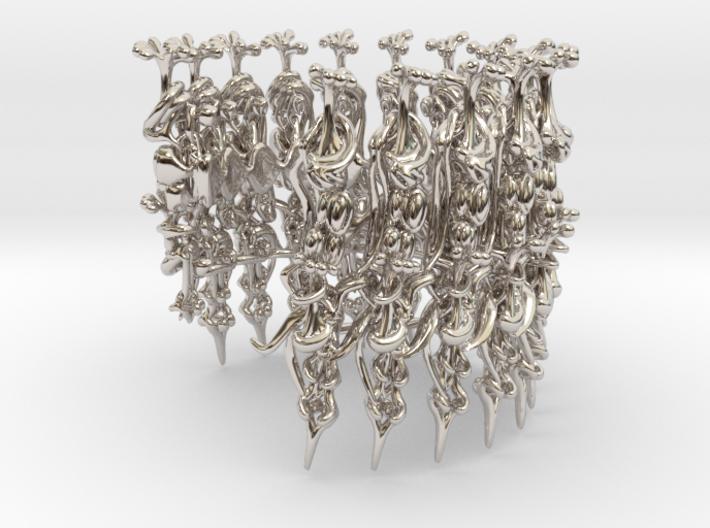 Harmonica Bracelet 3d printed