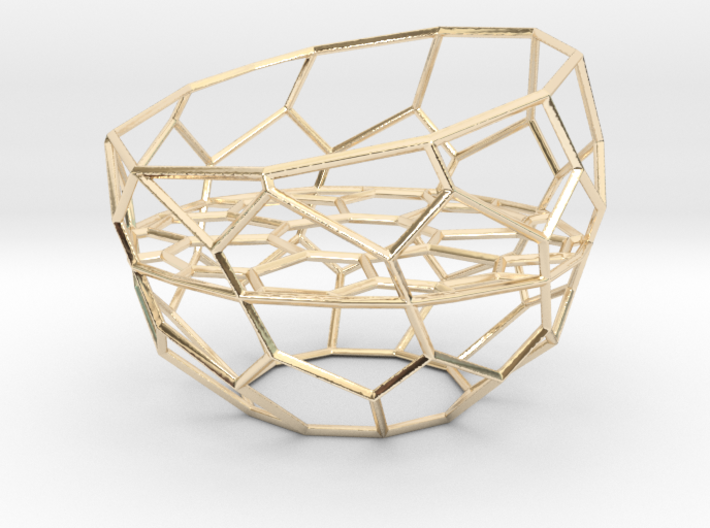 Wire Tealight Holder 3d printed