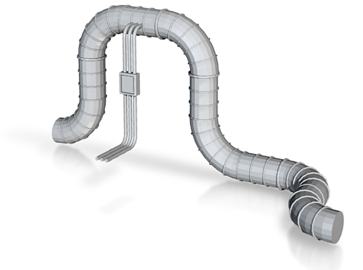 Pipelines mit Hochbogen 3d printed