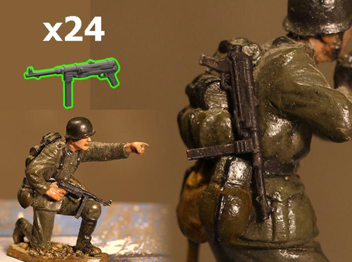 1/35 MP-38 (MP-40) submachine guns 3d printed