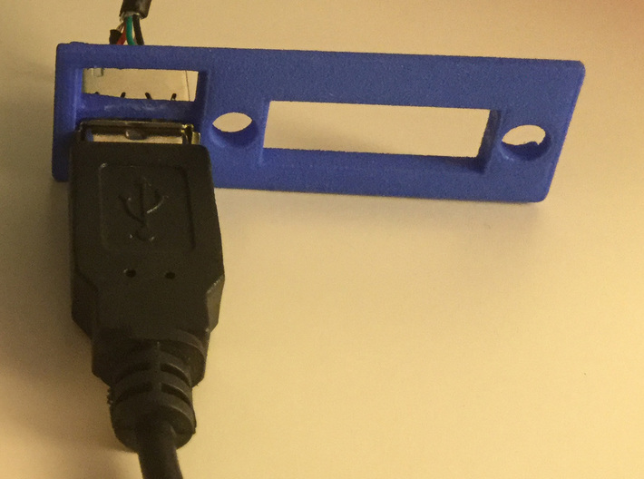 A1200 Rear Expansion port cover DVI and USB 3d printed