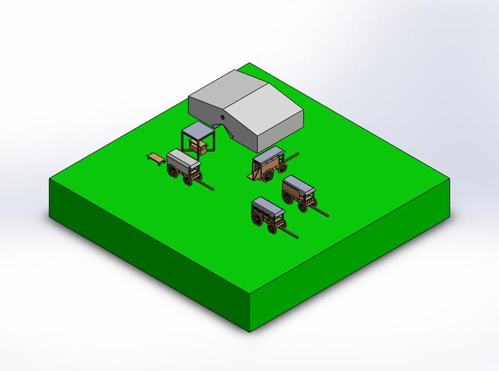 3 stretchers 3d printed