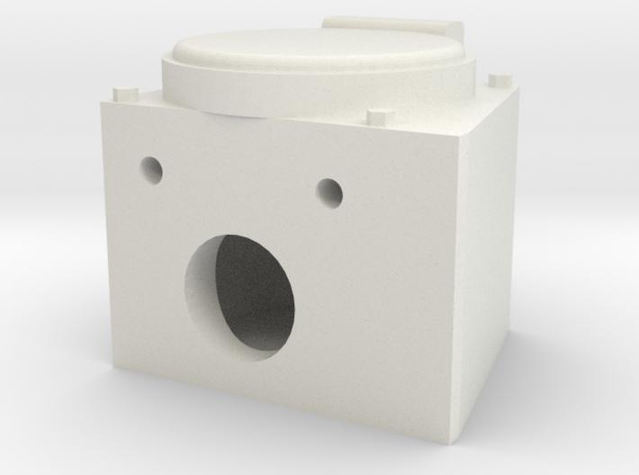 """Faux angled MU box 1.5"""" scale 3d printed"""