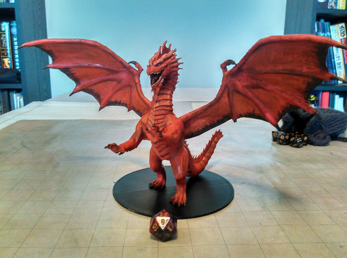 Ancient Red Dragon - Colossal Sized