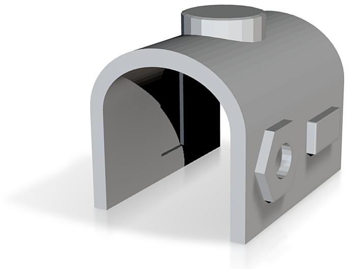 Megatron Fusion Cannon Housing 3d printed